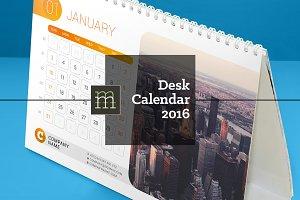 Desk Calendar 2016 (DC09)