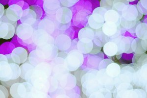 White purple bokeh