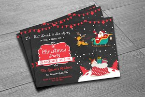 Christmas Invitation Flyer - V152