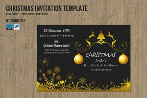Christmas Invitation Flyer-V153