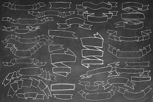 Hand Drawn Banners Pack.1