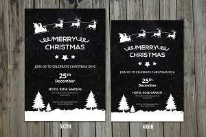 Christmas Invitation Flyer-V154