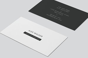 "Business Card - ""Walker"""
