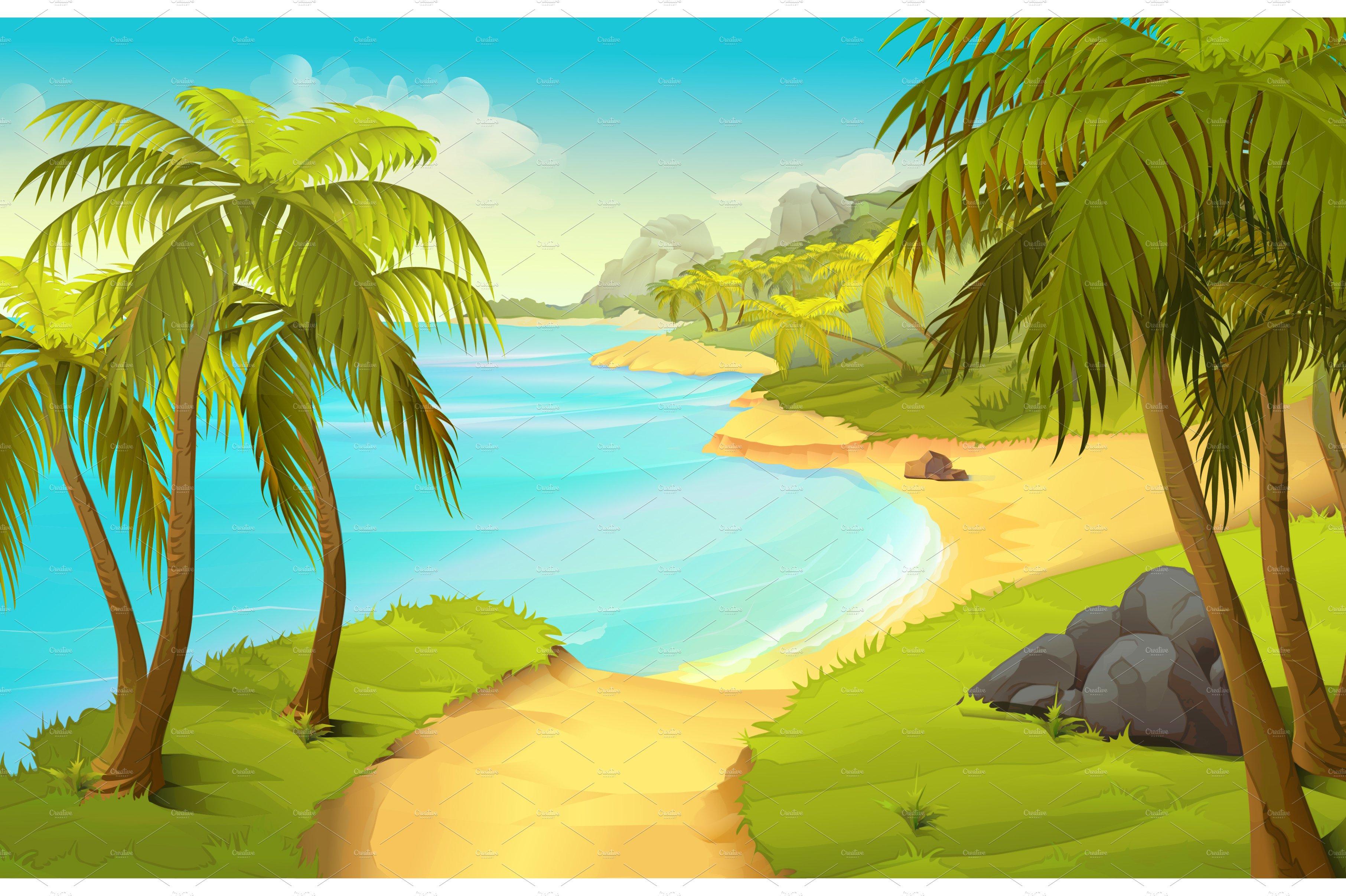 Tropical Island Beach Ambience Sound: Creative Market