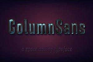 Column Sans - Complete Family