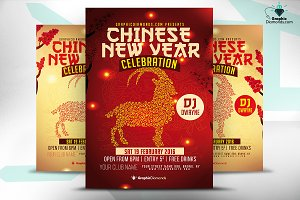 Chinese New Year Flyer Celebration