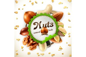Nuts label