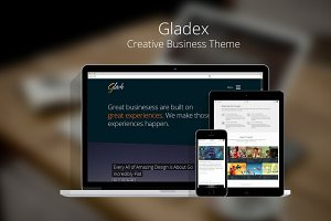 Gladex Creative - Premium Wordpress