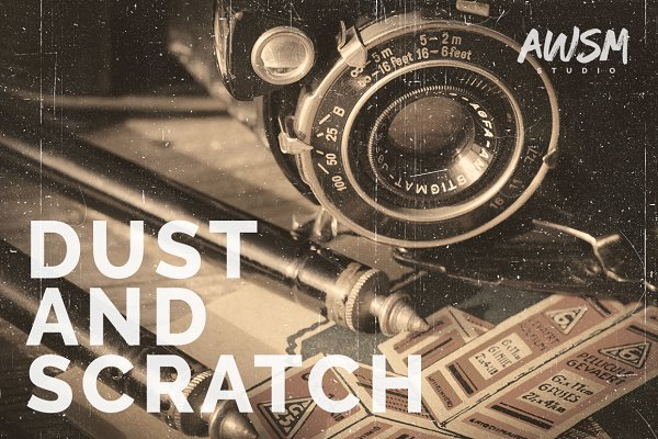 Dust and Scratch - Photo Overlays