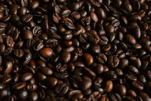 Dark Coffee Grains