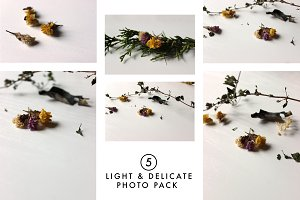 Light & Delicate Photo Pack