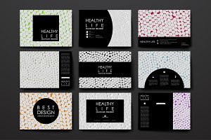 Healthcare card templates