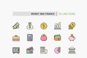 Icons of Money and Finance