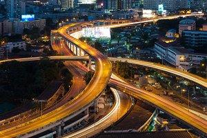 Bangkok interchange express way