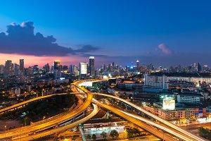 Bangkok Expressway and Highway top
