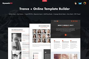 Trance + Online Template Builder