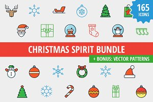Sale: Christmas Spirit 165 icons