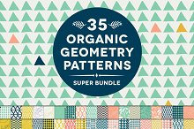 35 Organic Geometry Patterns Bundle