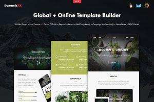 Global + Online Template Builder