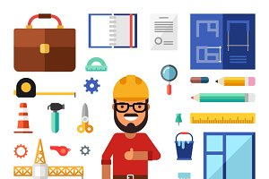 Building Flat Illustrations