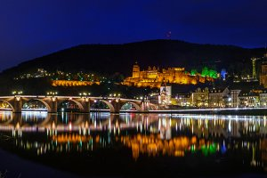 Panorama of Heidelberg