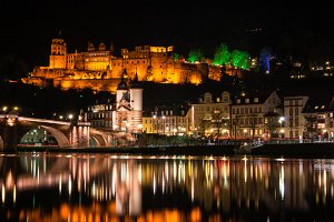 Heidelberg Castle & Bridge