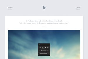 Breeze - Portfolio (HTML/CSS/PSD)
