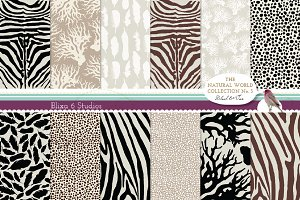 Natural Animal Digital Patterns N.3