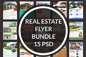 Real Estate 15 Flyer Bundle