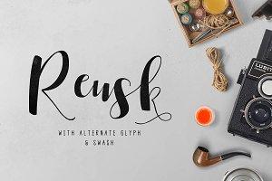 Reusk Script