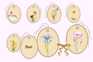 Pretty Little EasterTags