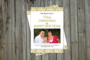 Christmas & New Year Card - V156