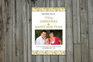Christmas & New Year Card - V156