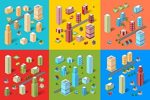 Vector set City