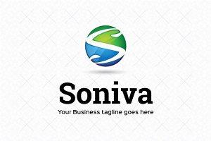Soniva Logo Template