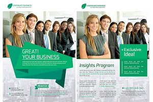 Corporate Business Flyer 2 Layouts T