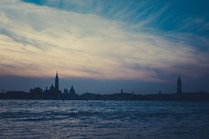 Before dark in Venice