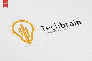 Tech Brain Logo