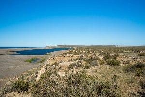 peninsula valdes outdoor landscape