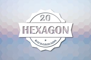 20 Hexagon Backgrounds