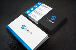 Modern Creative Flat Business Card