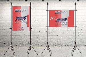 A1 Poster Mockup V & H