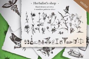 Herbalist's shop