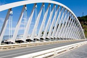 Ondarroa bridge, Euskadi.