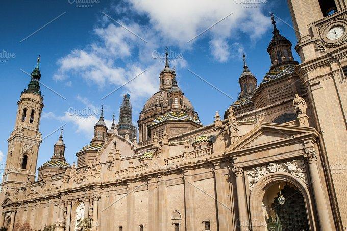 Zaragoza. El Pilar - Architecture