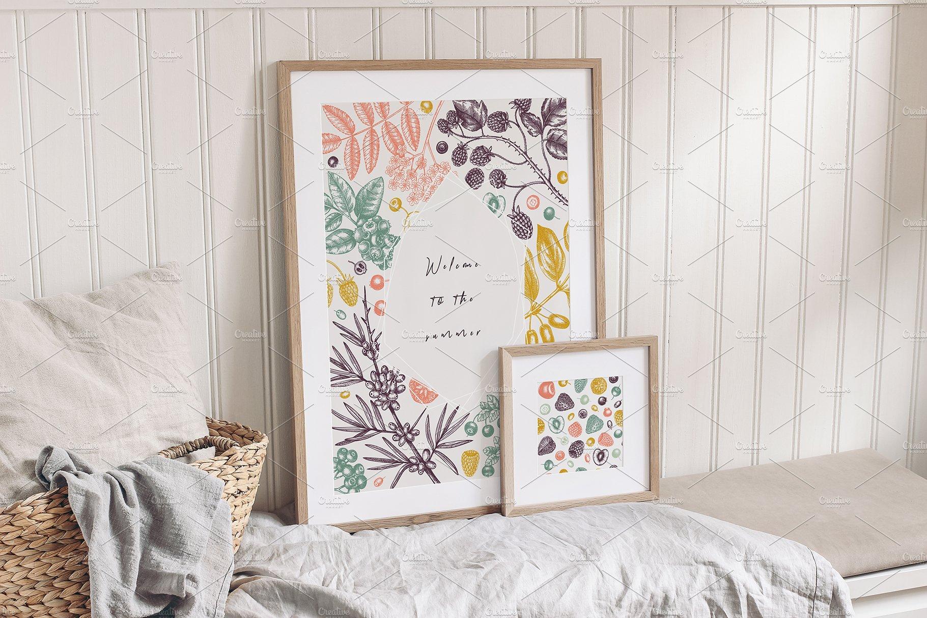hand drawn berries vectors and designs 04 4