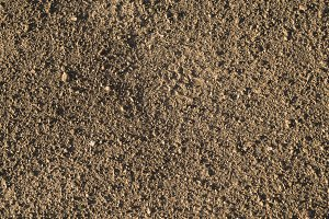 Brown earth and gravel macro texture