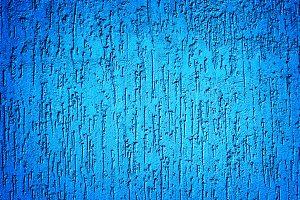 Cyan plaster wall texture