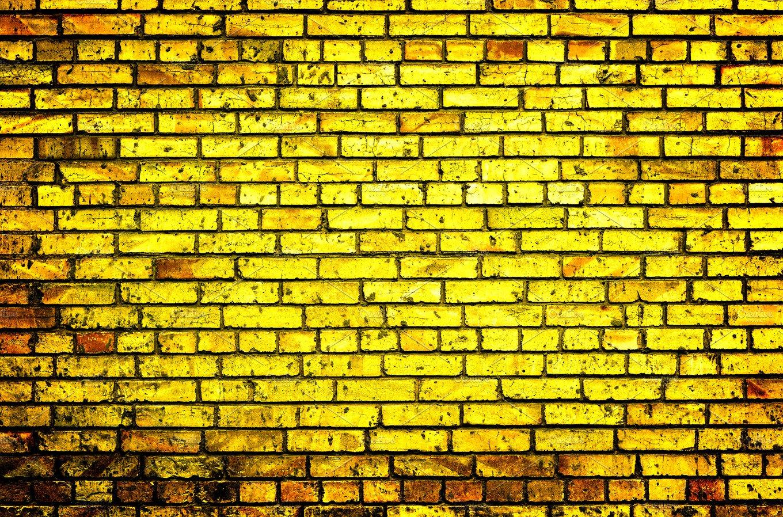 Texture of golden brick wall ~ Abstract Photos ~ Creative Market