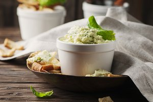 Cheese cream with parmesan